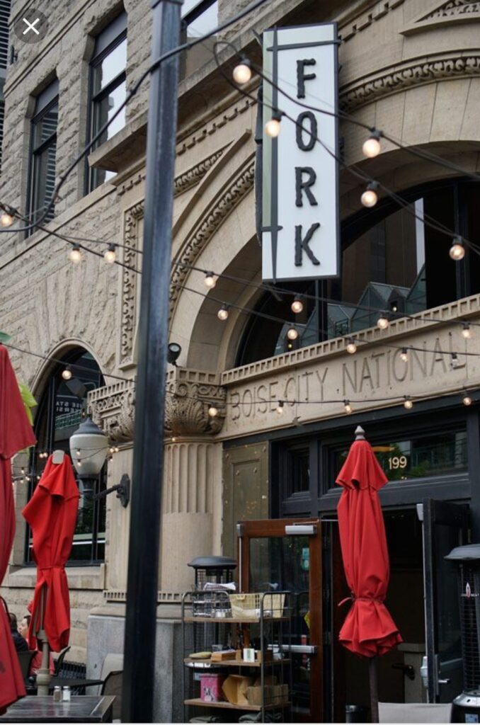 Ben Sells Idaho Boise Real estate Fork Restaurant in Boise Idaho